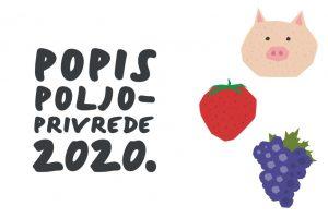 Read more about the article Postani popisivač Popisa poljoprivrede 2020.!